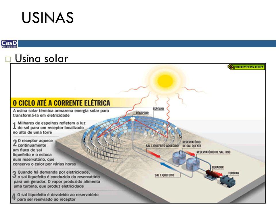 USINAS Usina solar