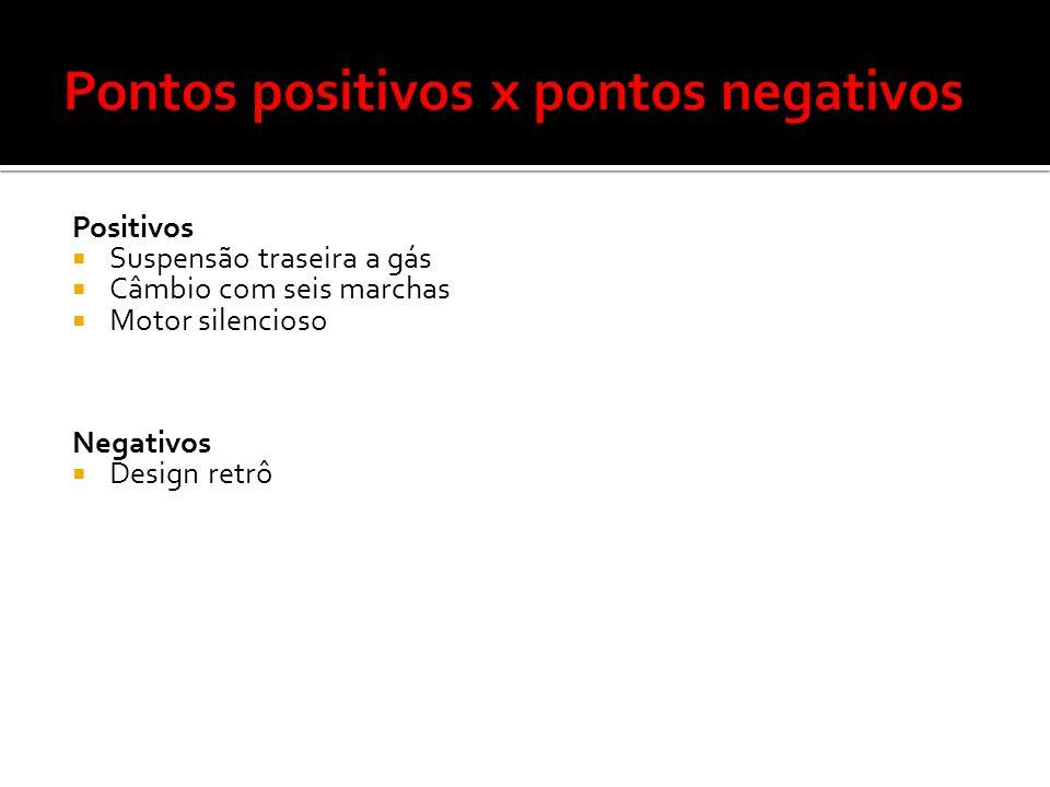 Pontos positivos x pontos negativos