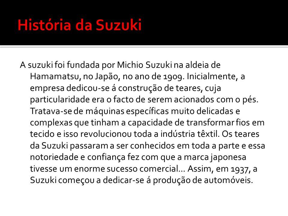 História da Suzuki