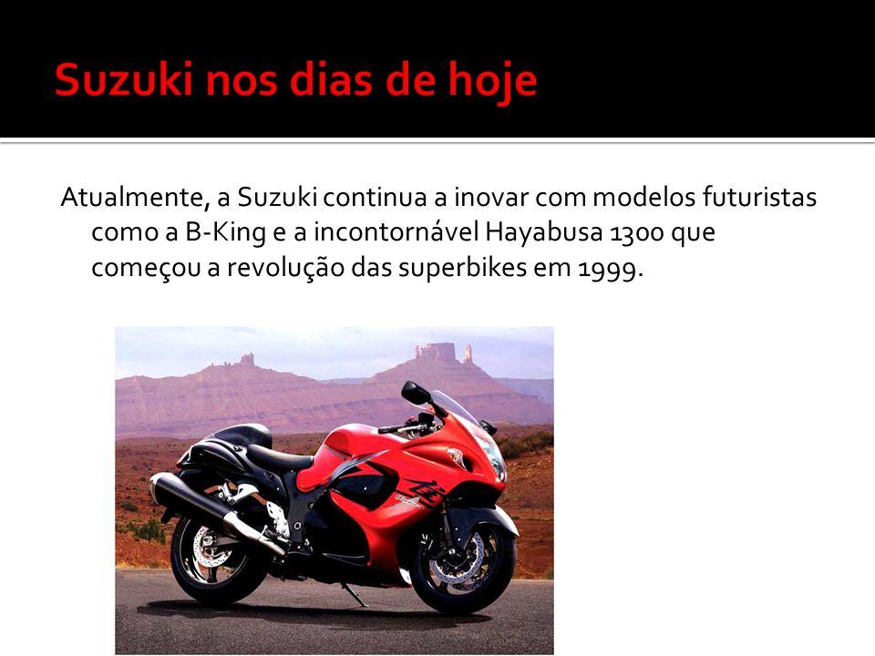 Suzuki nos dias de hoje