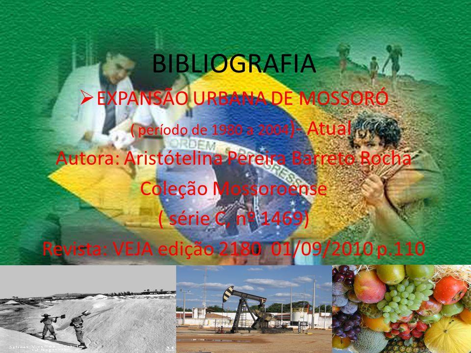 BIBLIOGRAFIA EXPANSÃO URBANA DE MOSSORÓ