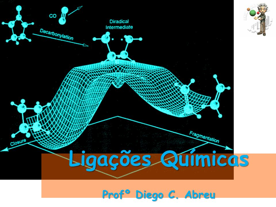 Ligações Químicas Profº Diego C. Abreu