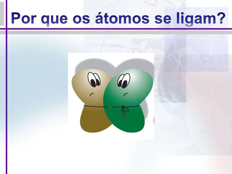 Por que os átomos se ligam