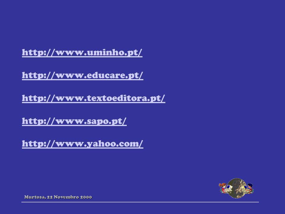 http://www.uminho.pt/ http://www.educare.pt/