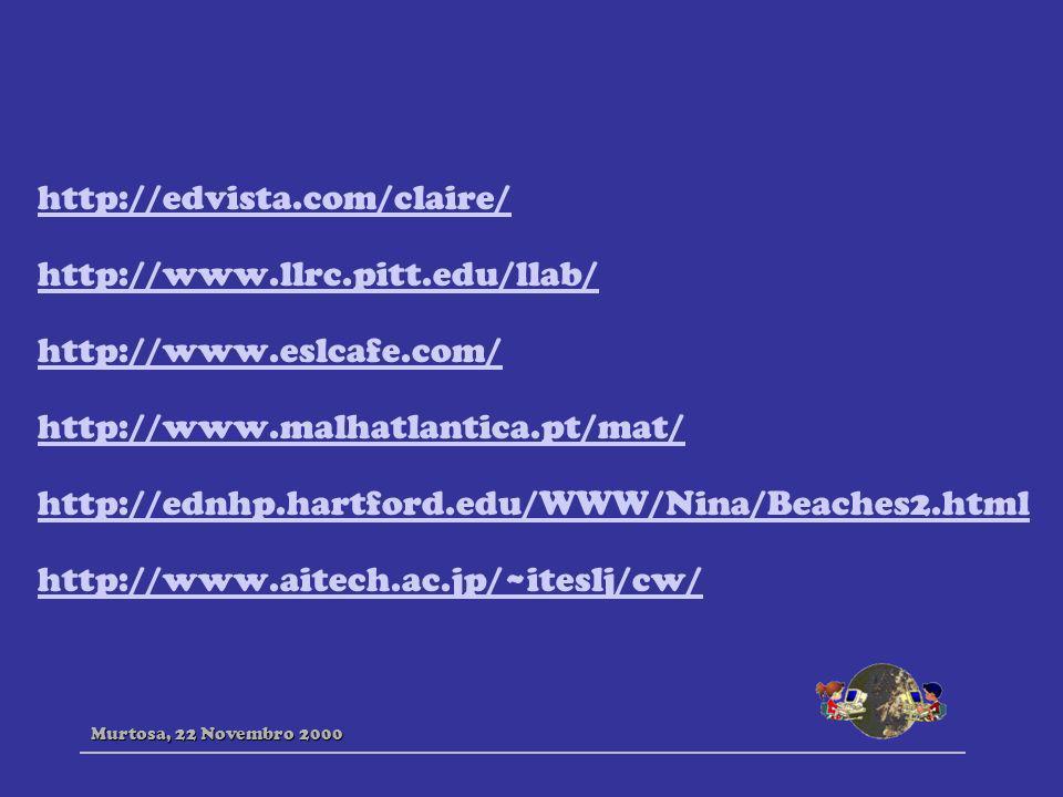 http://edvista.com/claire/ http://www.llrc.pitt.edu/llab/