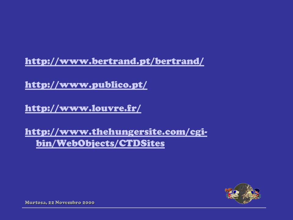 http://www.bertrand.pt/bertrand/ http://www.publico.pt/