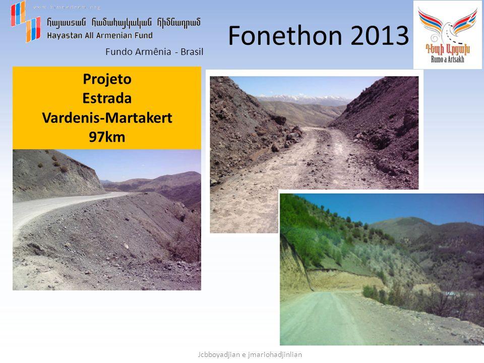 Fonethon 2013 Projeto Estrada Vardenis-Martakert 97km
