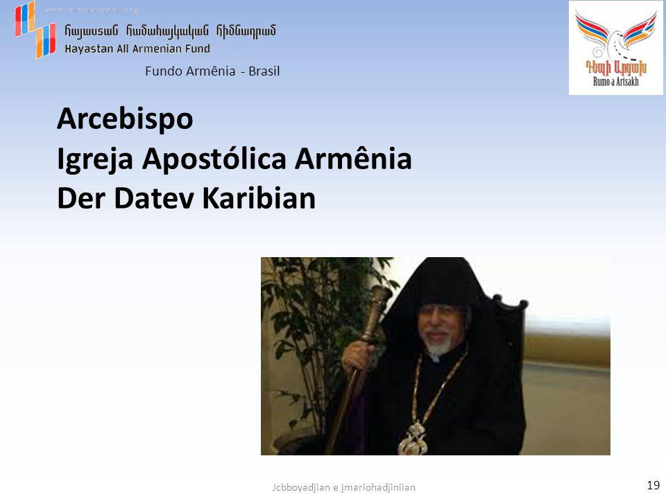 Arcebispo Igreja Apostólica Armênia Der Datev Karibian
