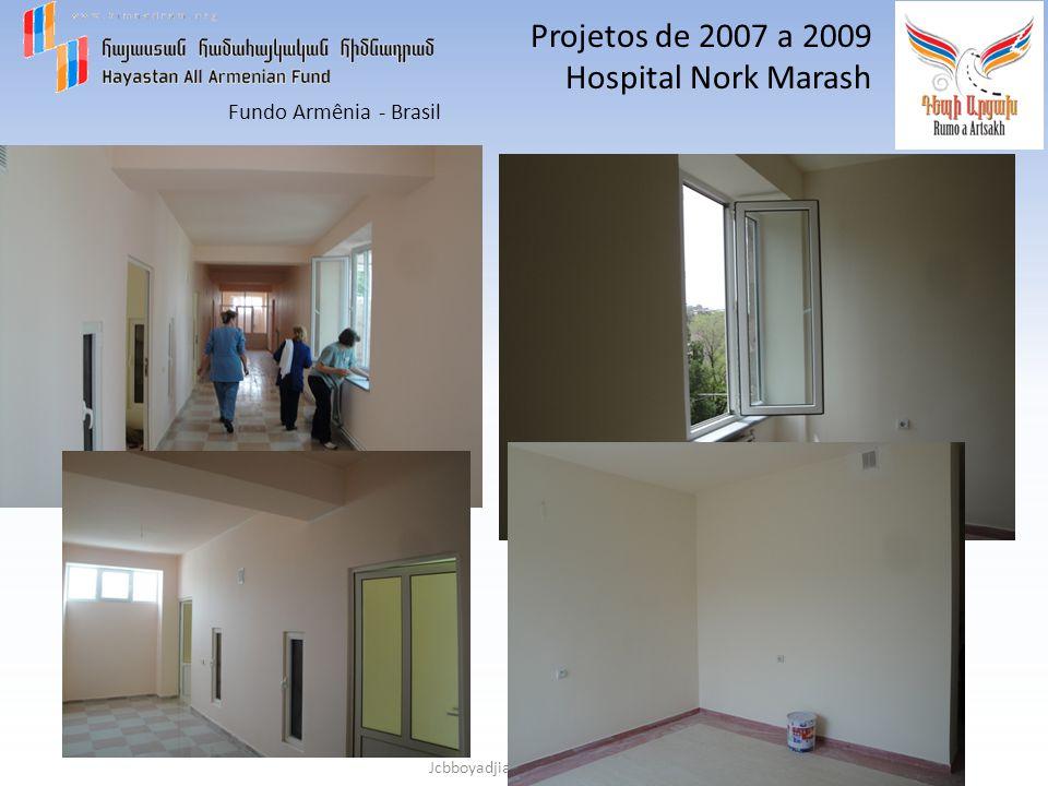 Projetos de 2007 a 2009 Hospital Nork Marash