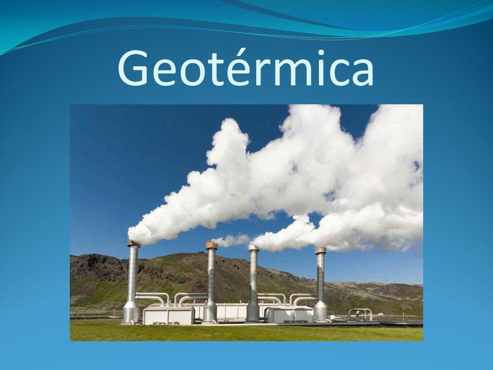 Geotérmica