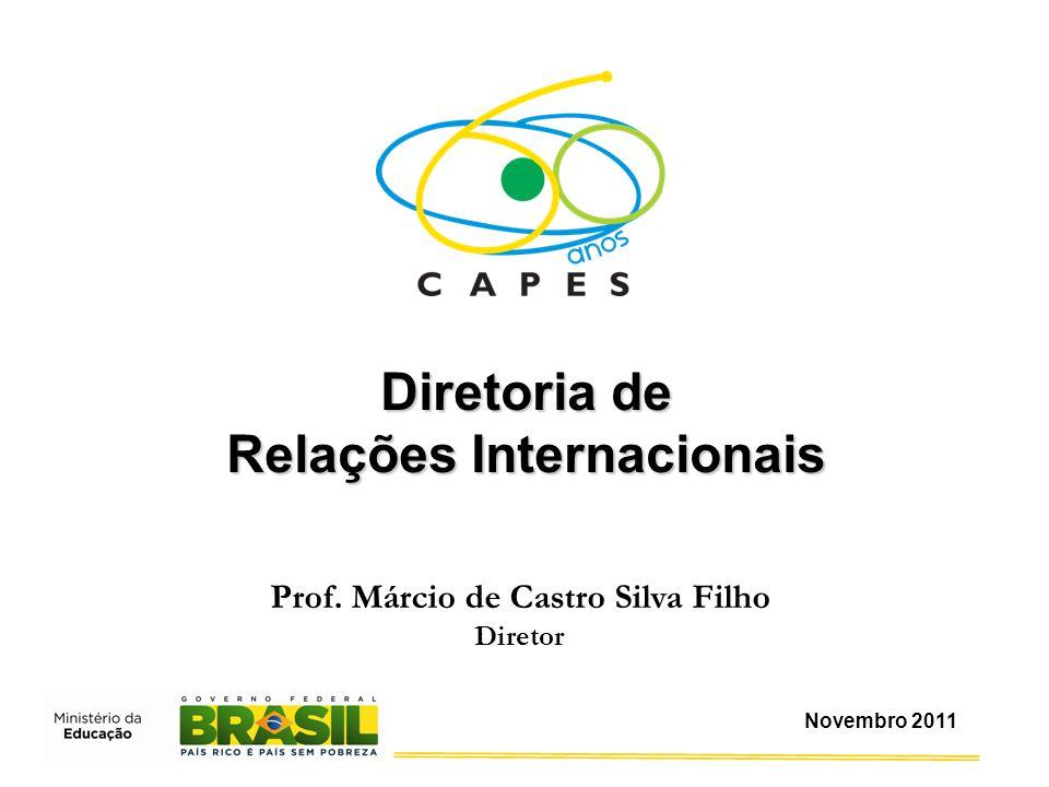 Relações Internacionais Prof. Márcio de Castro Silva Filho
