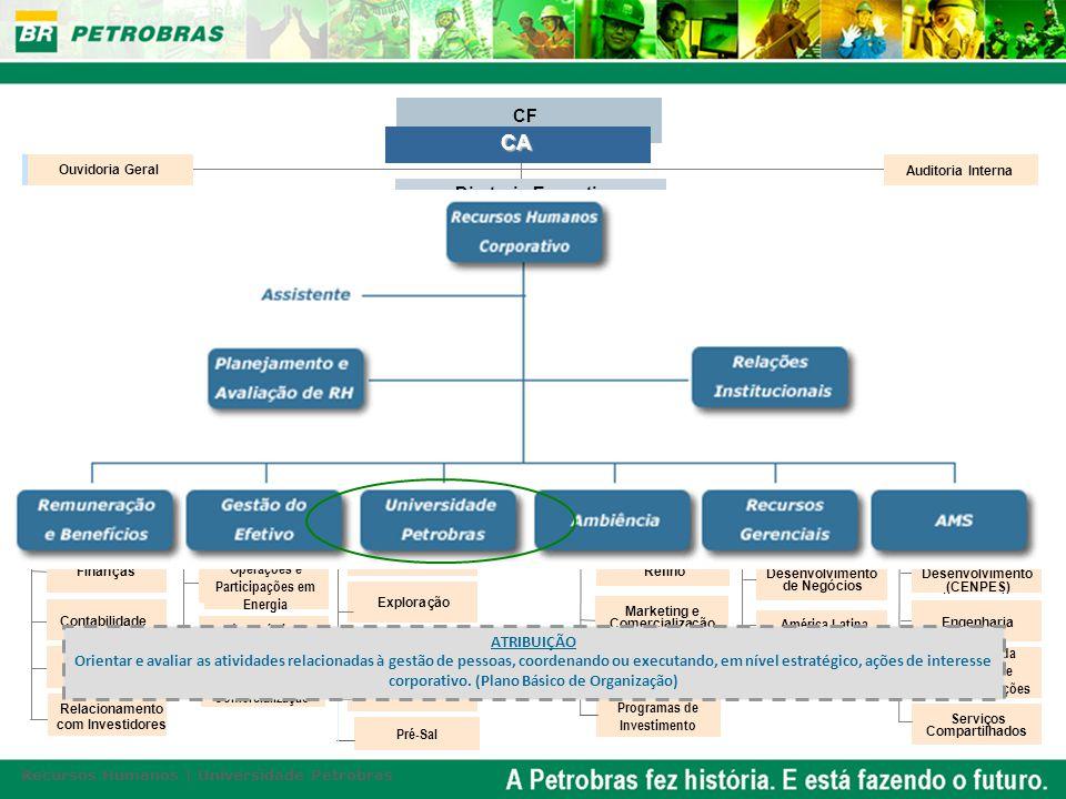 G s e Energia Abastecimento Internacional Financeira ão e