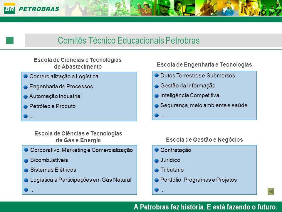 Comitês Técnico Educacionais Petrobras