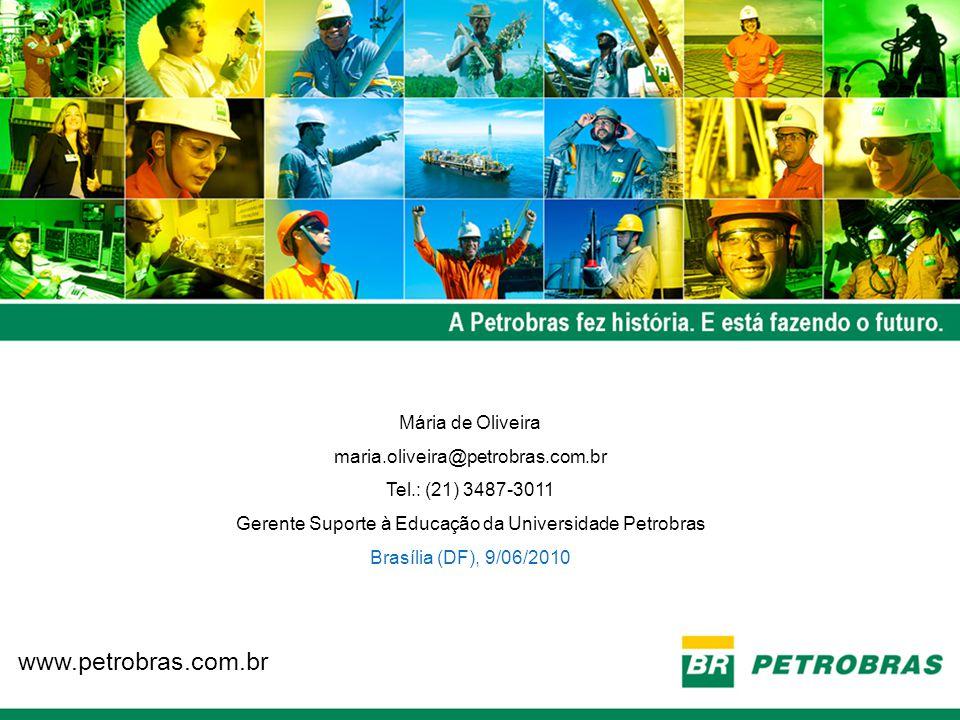 Gerente Suporte à Educação da Universidade Petrobras