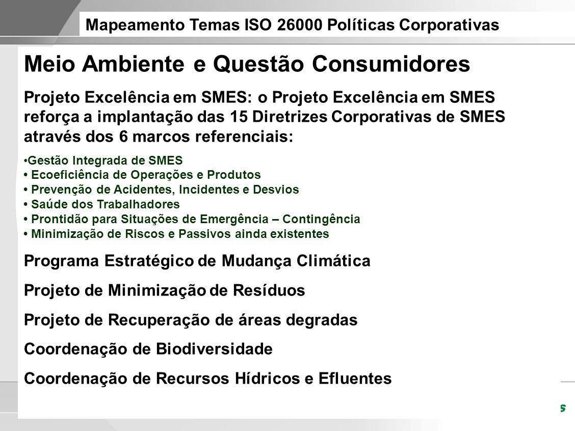 Meio Ambiente e Questão Consumidores