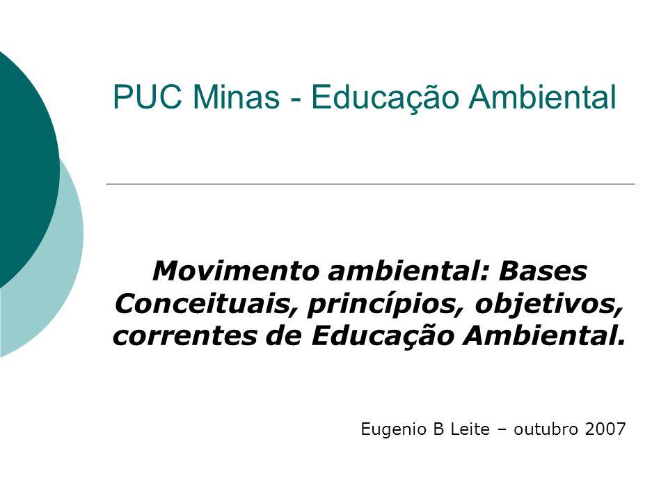 PUC Minas - Educação Ambiental