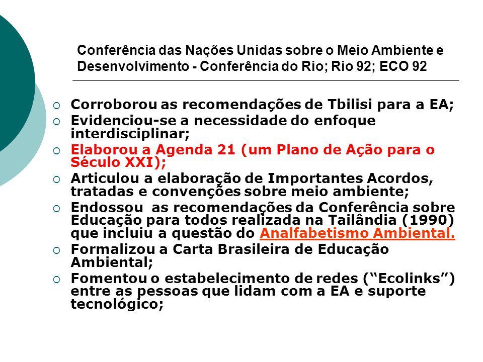 Conferência das Nações Unidas sobre o Meio Ambiente e Desenvolvimento - Conferência do Rio; Rio 92; ECO 92