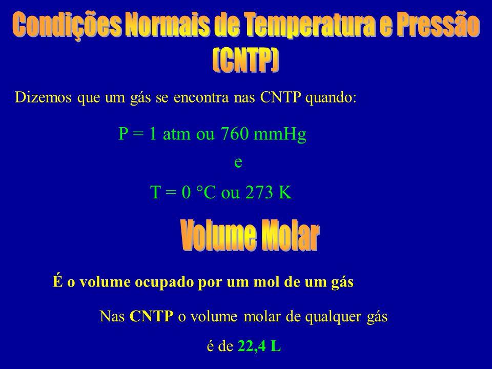 Condições Normais de Temperatura e Pressão (CNTP)