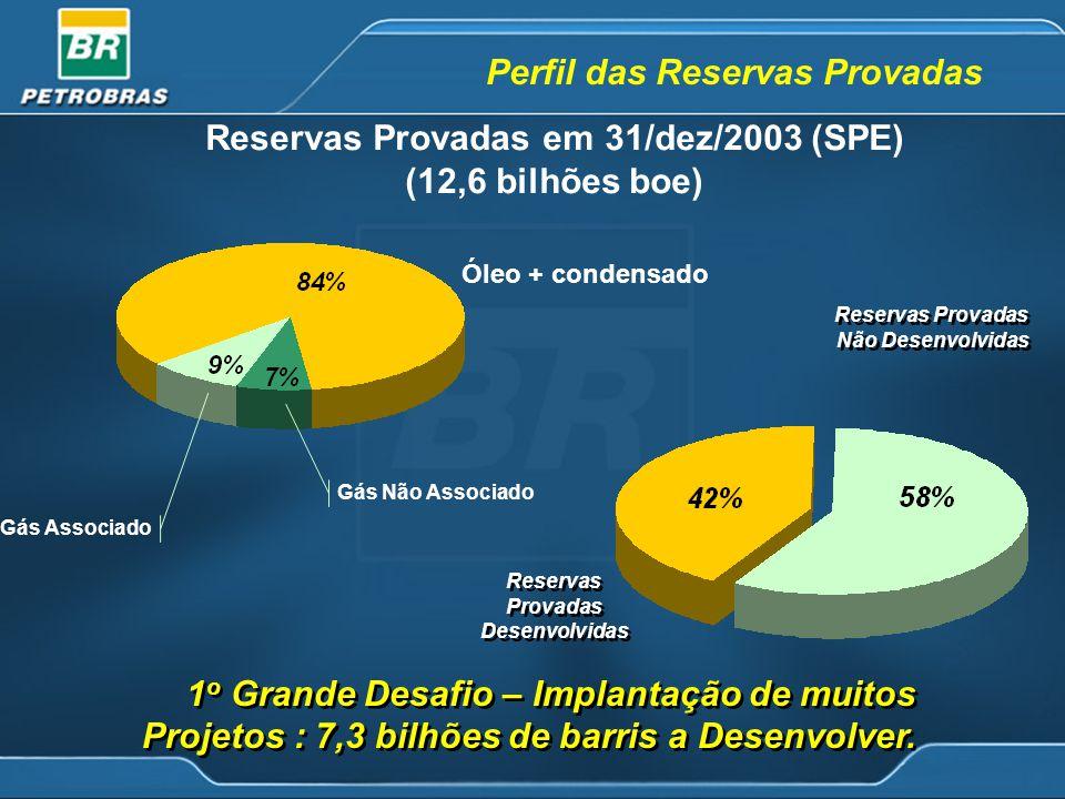 Reservas Provadas em 31/dez/2003 (SPE)