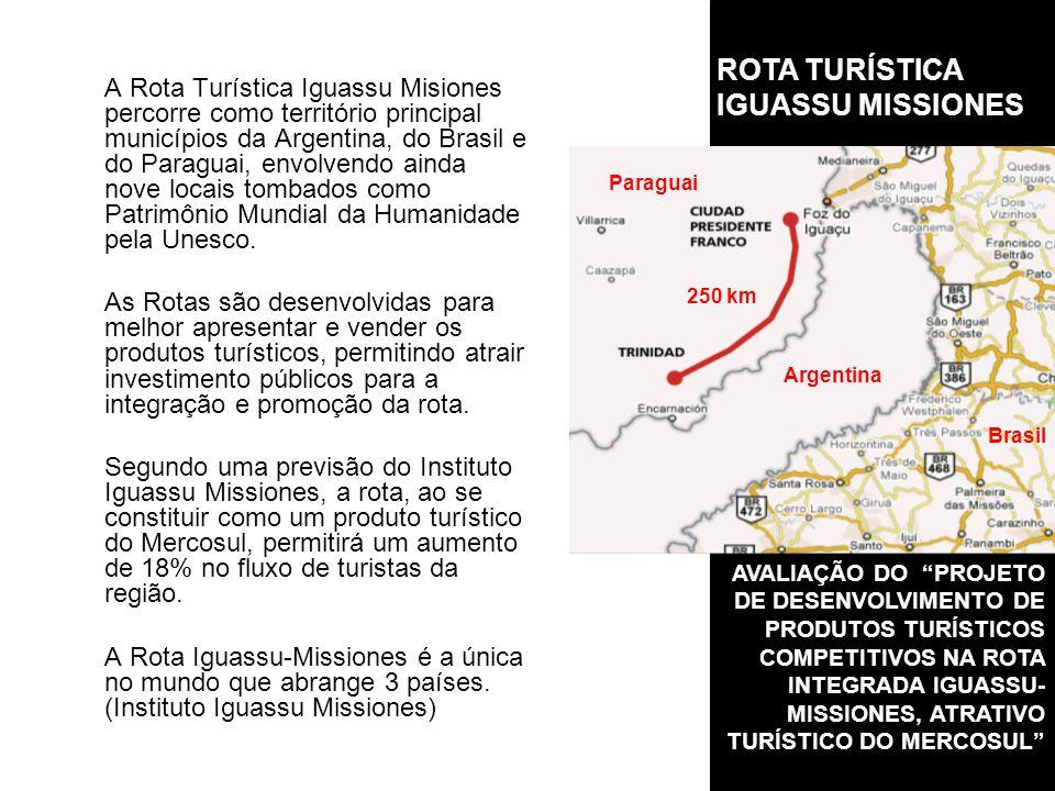 ROTA TURÍSTICA IGUASSU MISSIONES