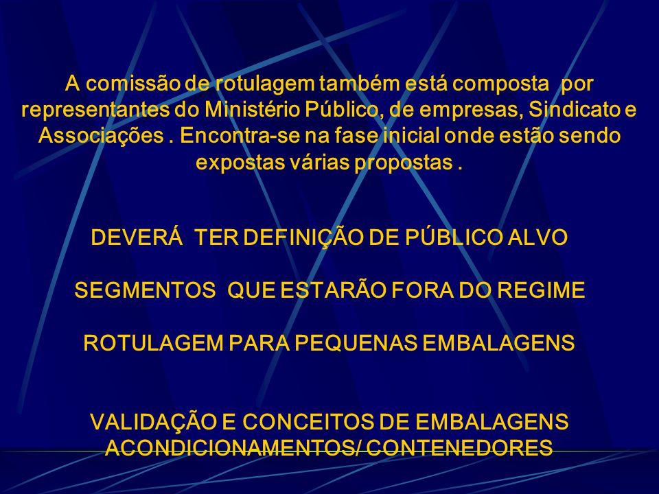 DEVERÁ TER DEFINIÇÃO DE PÚBLICO ALVO