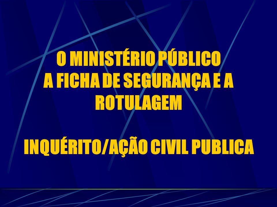INQUÉRITO/AÇÃO CIVIL PUBLICA
