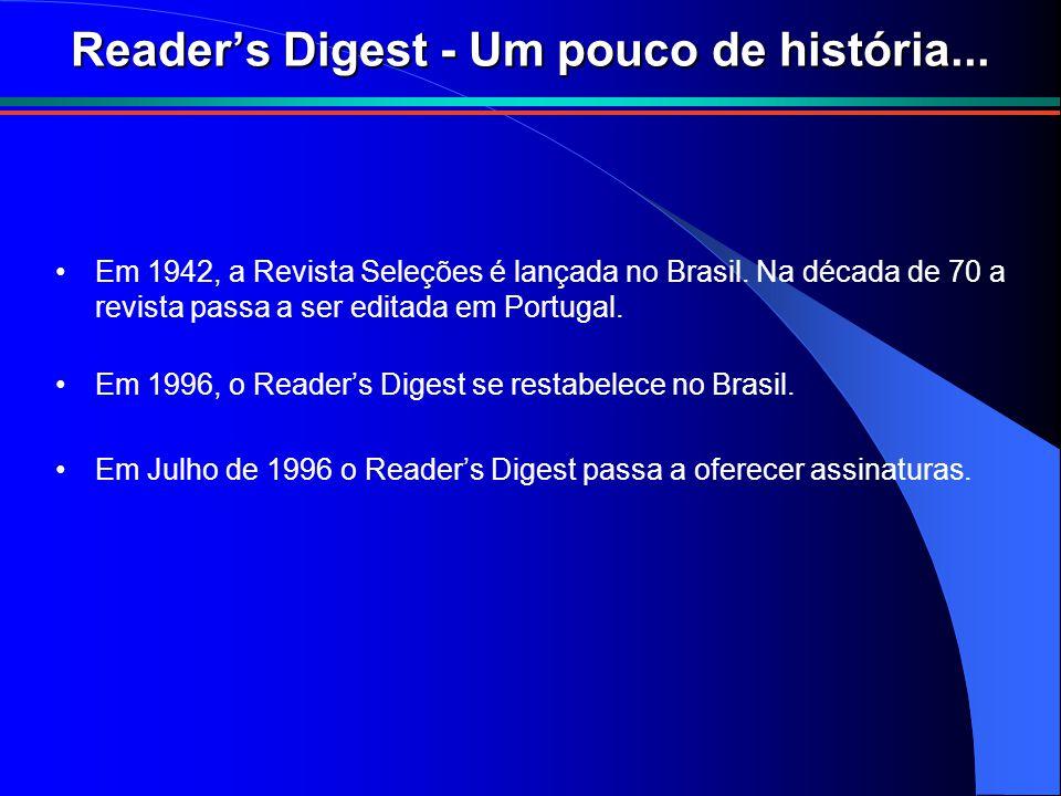 Reader's Digest - Um pouco de história...