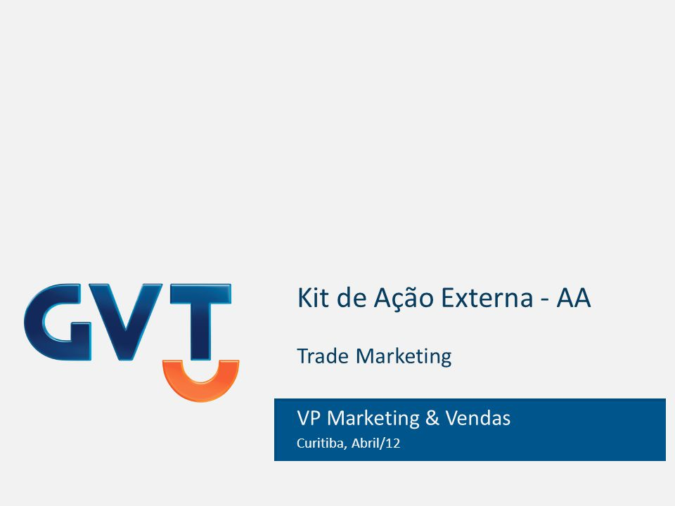 Kit de Ação Externa - AA Trade Marketing
