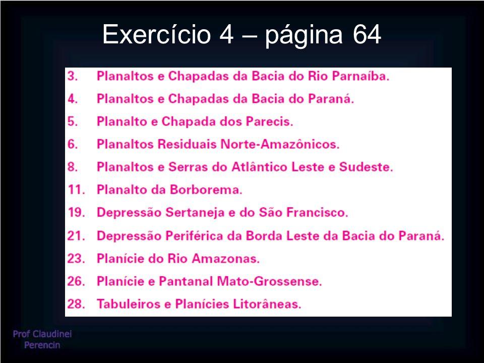 Exercício 4 – página 64
