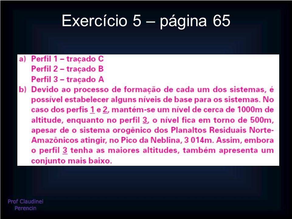 Exercício 5 – página 65