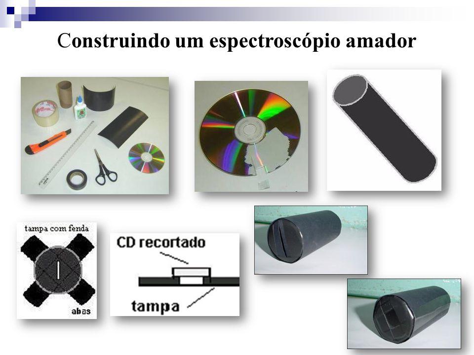 Construindo um espectroscópio amador