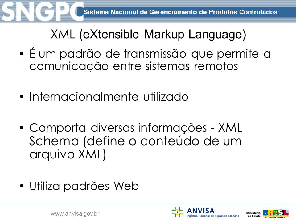 XML (eXtensible Markup Language)