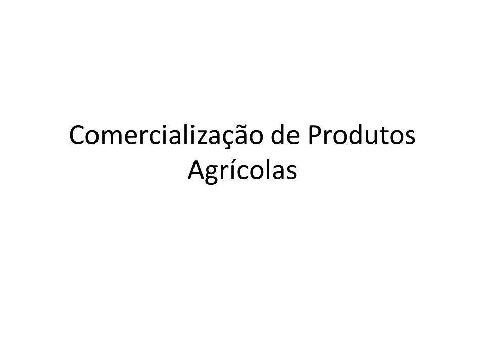 Comercialização de Produtos Agrícolas