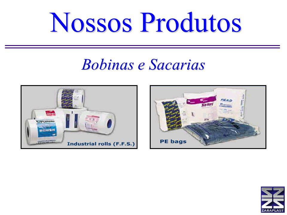 Nossos Produtos Bobinas e Sacarias