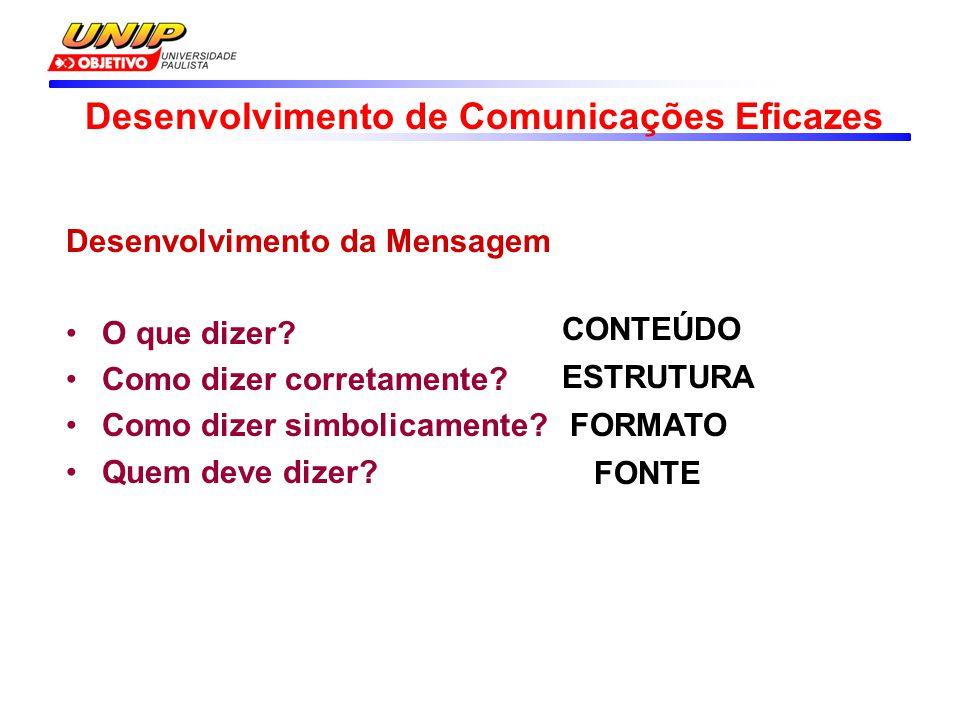 Desenvolvimento de Comunicações Eficazes