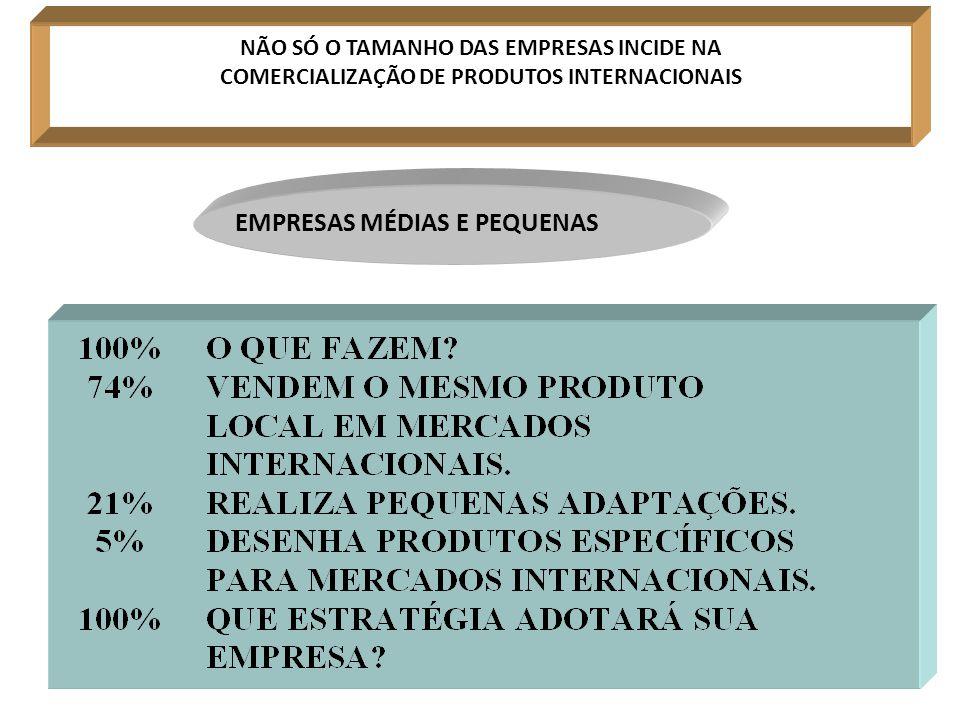 EMPRESAS MÉDIAS E PEQUENAS