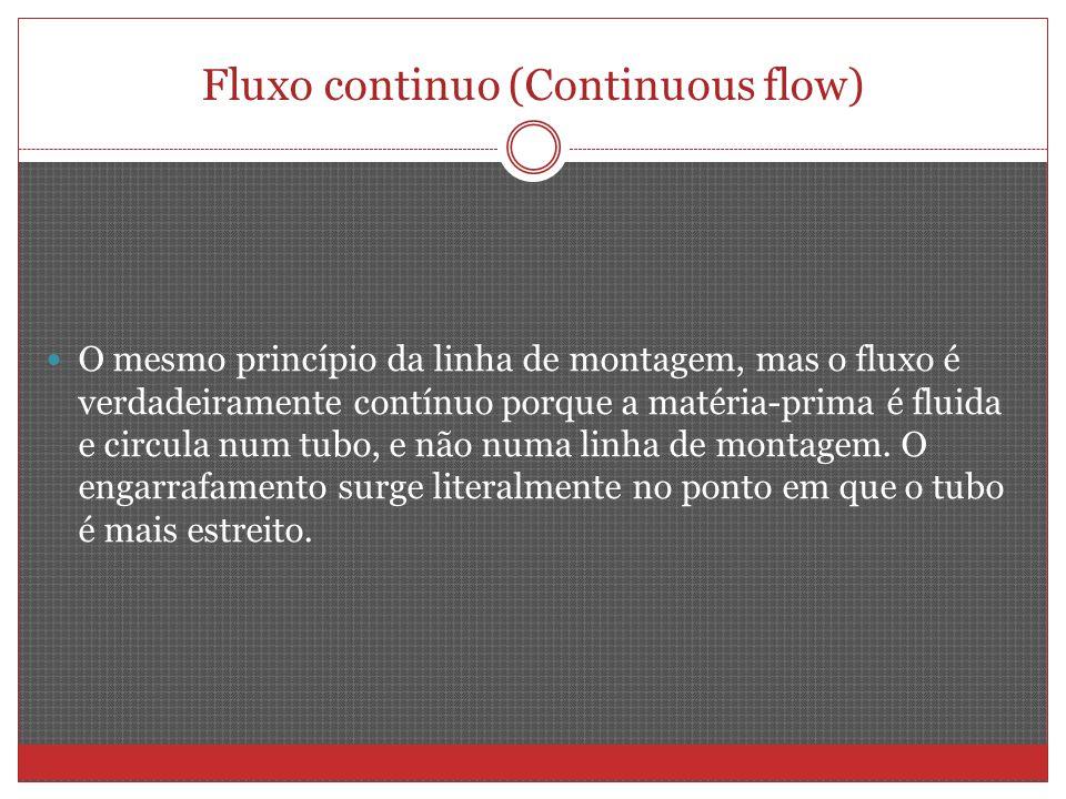 Fluxo continuo (Continuous flow)