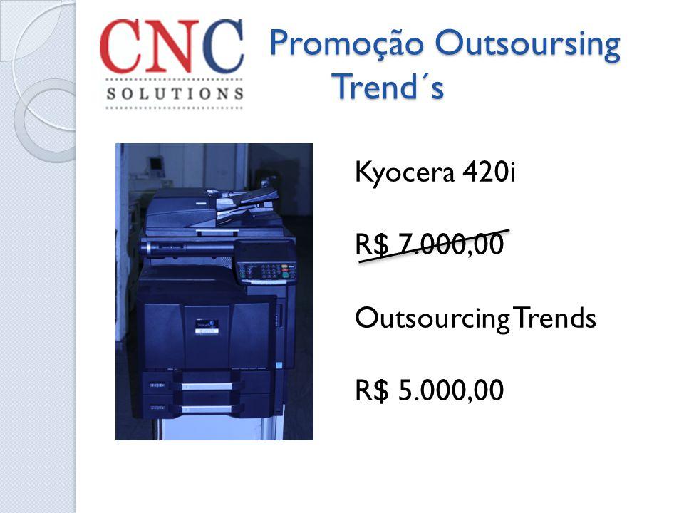 Promoção Outsoursing Trend´s