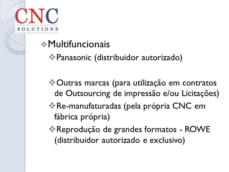 Multifuncionais Panasonic (distribuidor autorizado)