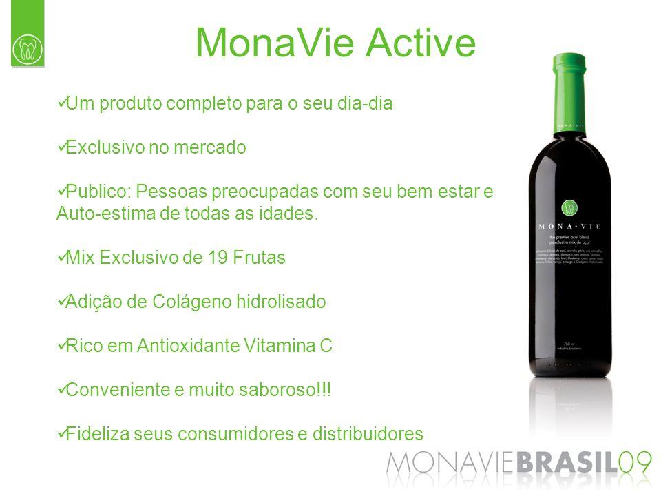 MonaVie Active Um produto completo para o seu dia-dia