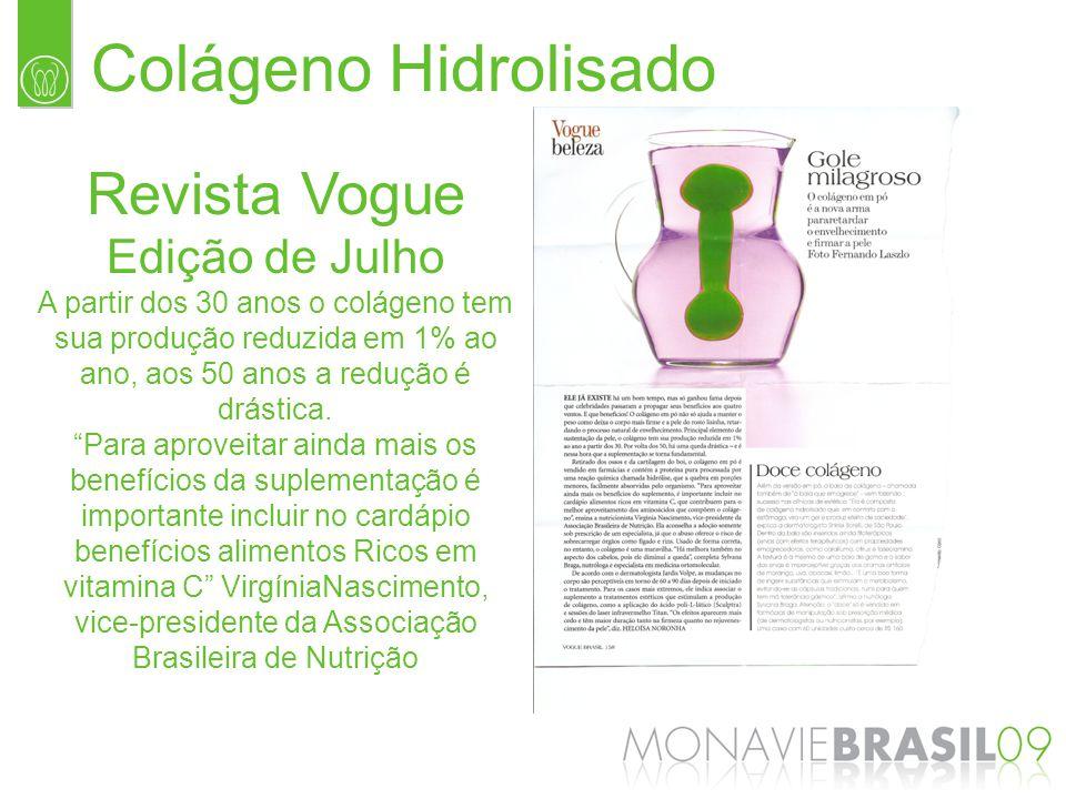 Colágeno Hidrolisado Revista Vogue Edição de Julho