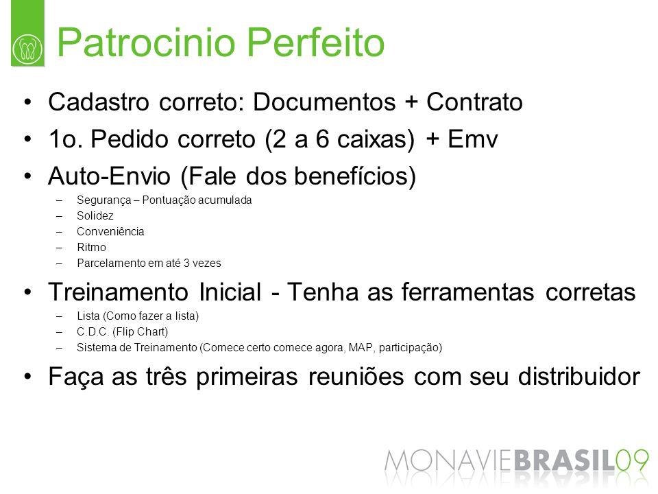 Patrocinio Perfeito Cadastro correto: Documentos + Contrato