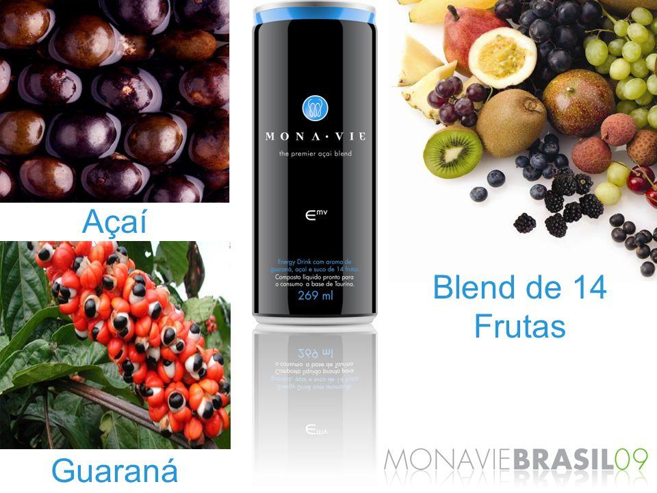 Açaí Blend de 14 Frutas Guaraná