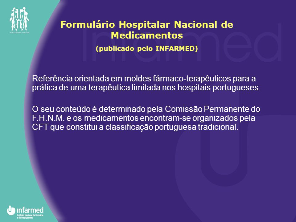 Formulário Hospitalar Nacional de Medicamentos