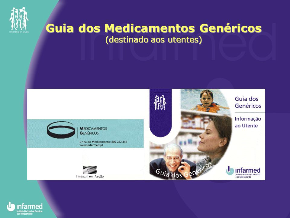 Guia dos Medicamentos Genéricos