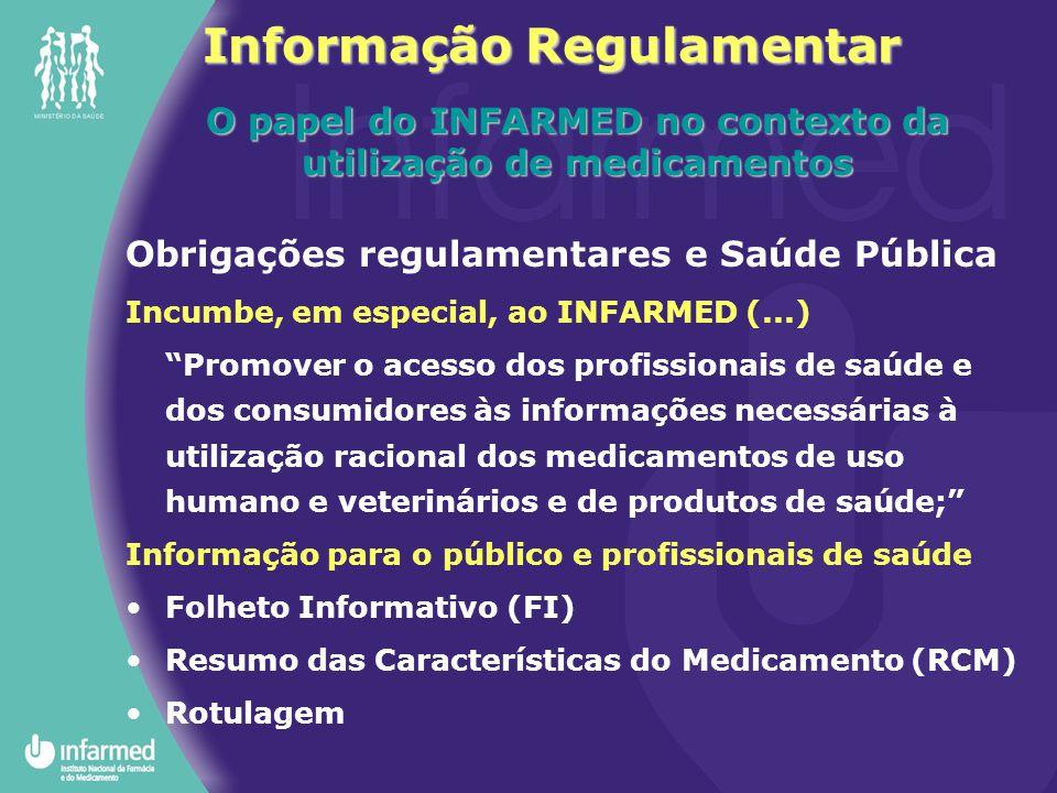 Informação Regulamentar