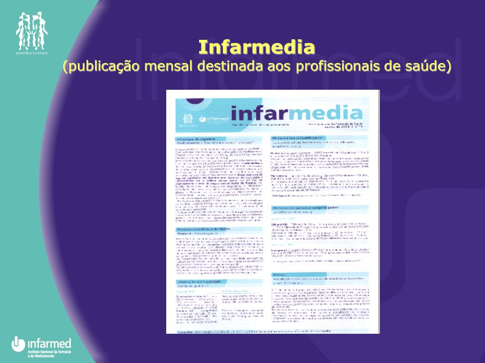(publicação mensal destinada aos profissionais de saúde)