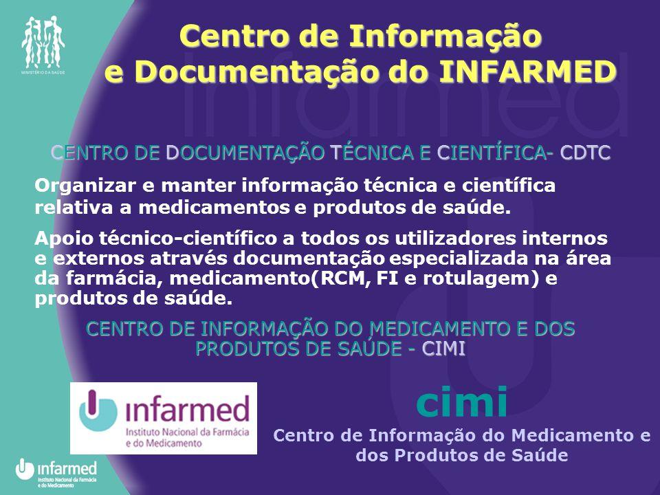 Centro de Informação e Documentação do INFARMED