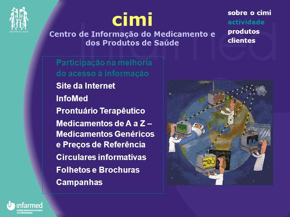 cimi Centro de Informação do Medicamento e dos Produtos de Saúde