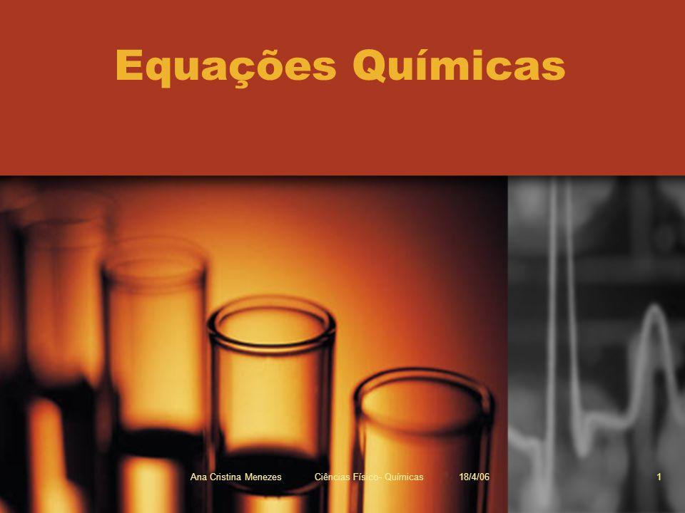 Ana Cristina Menezes Ciências Físico- Químicas 18/4/06